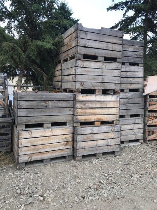 Walnut Firewood Crate